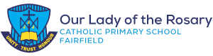 Our Lady of the Rosary Catholic Primary School Fairfield Logo